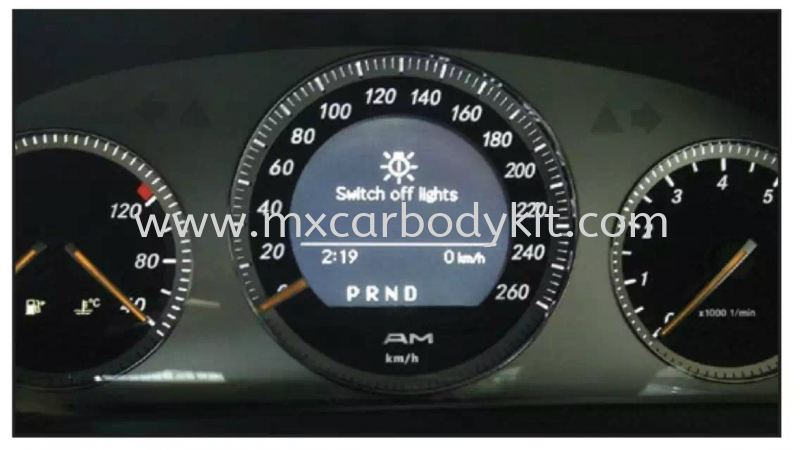 MERCEDES BENZ W204 METER PANEL KM/H METER PANEL ACCESSORIES AND AUTO PARTS Johor, Malaysia, Johor Bahru (JB), Masai. Supplier, Suppliers, Supply, Supplies | MX Car Body Kit