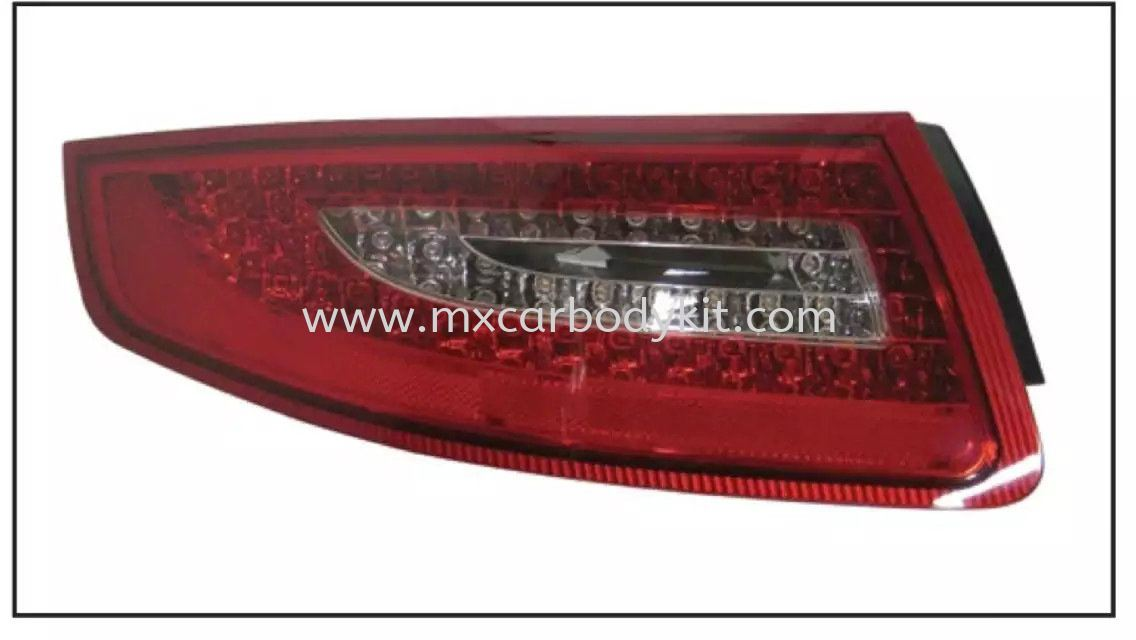 PORSCHE CARRERA 991/997 2004-2012 REAR LAMP CRYSTAL LED RED / CLEAR  TAIL LAMP ACCESSORIES AND AUTO PARTS Johor, Malaysia, Johor Bahru (JB), Masai. Supplier, Suppliers, Supply, Supplies | MX Car Body Kit