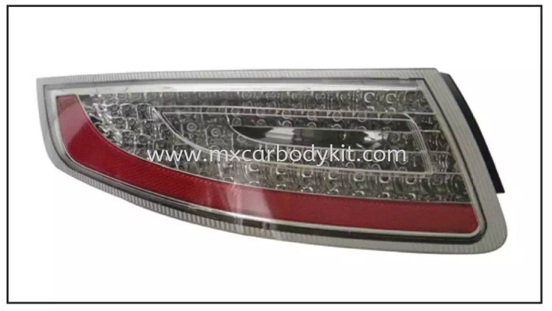 PORSCHE CARRERA 911/997 2004-2012 REAR LAMP CRYSTAL LED CLEAR  TAIL LAMP ACCESSORIES AND AUTO PARTS Johor, Malaysia, Johor Bahru (JB), Masai. Supplier, Suppliers, Supply, Supplies | MX Car Body Kit