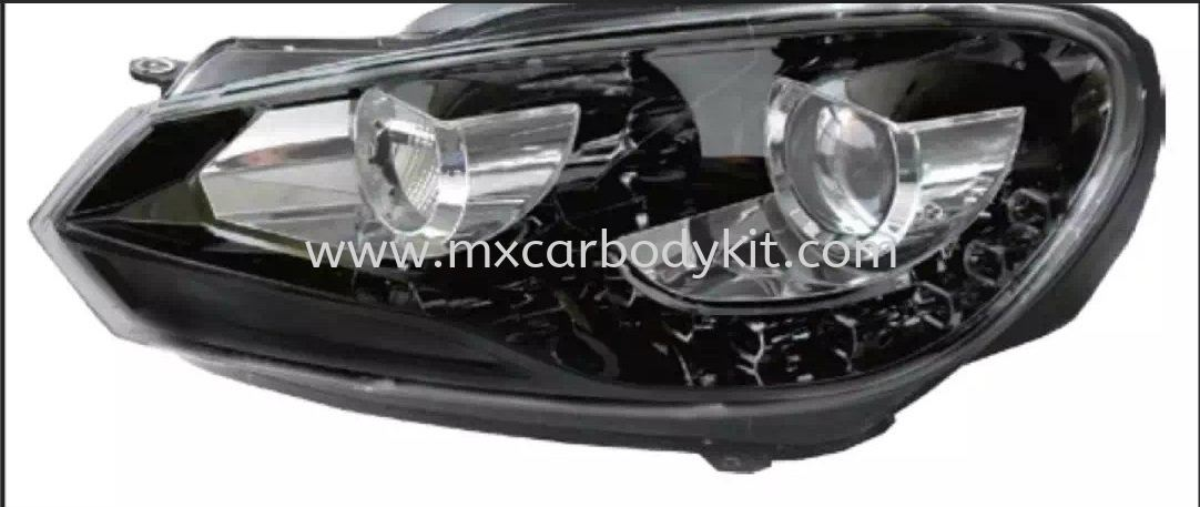 VOLKSWAGEN GOLF MK6 HEAD LAMP PROJECTOR W/LED  HEAD LAMP ACCESSORIES AND AUTO PARTS Johor, Malaysia, Johor Bahru (JB), Masai. Supplier, Suppliers, Supply, Supplies | MX Car Body Kit