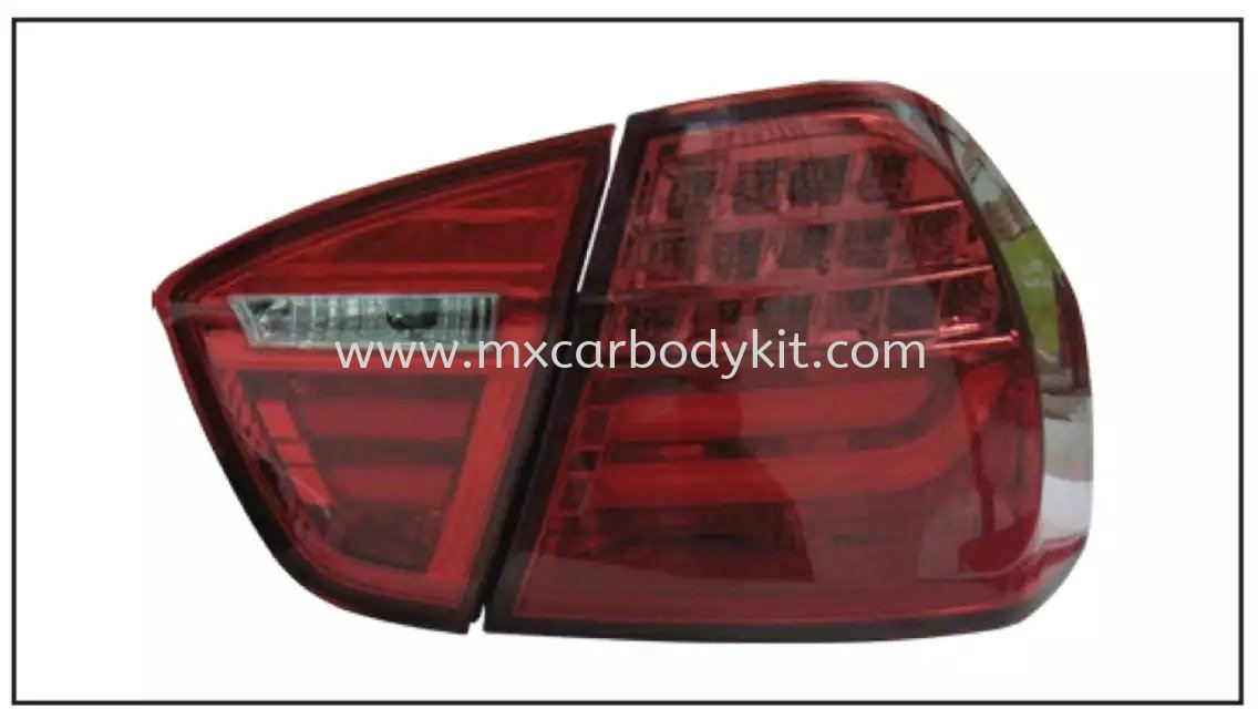 BMW E90 2005 REAR LAMP CRYSTAL LED + LIGHT BAR RED TAIL LAMP ACCESSORIES AND AUTO PARTS Johor, Malaysia, Johor Bahru (JB), Masai. Supplier, Suppliers, Supply, Supplies | MX Car Body Kit