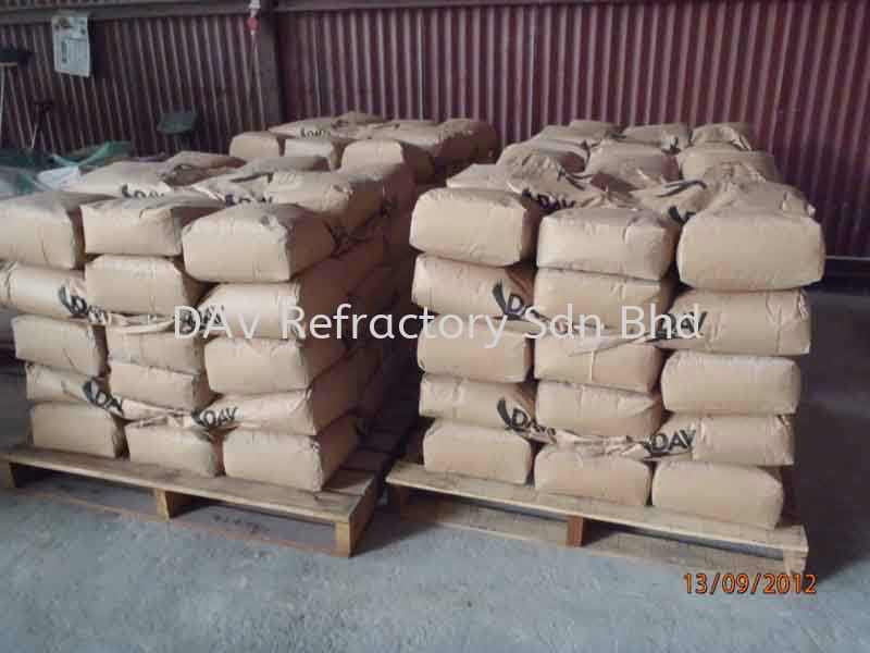 Low Cement Castable Castable Selangor, Kuala Lumpur (KL), Malaysia, Klang Supplier, Suppliers, Supply, Supplies   DAV Refractory Sdn Bhd