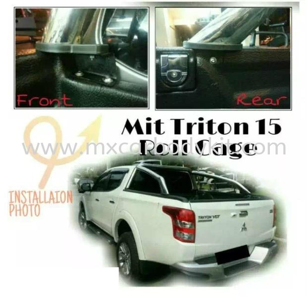 MITSUBISHI TRITON 2015 ROLL CAGE  MITSUBISHI TRITON  4 X 4 Johor, Malaysia, Johor Bahru (JB), Masai. Supplier, Suppliers, Supply, Supplies | MX Car Body Kit