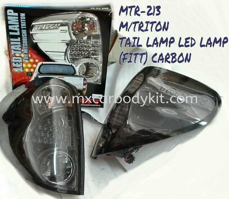 MITSUBISHI TRITON TAIL LAMP LED LAMP (FITT) CARBON MITSUBISHI TRITON  4 X 4 Johor, Malaysia, Johor Bahru (JB), Masai. Supplier, Suppliers, Supply, Supplies | MX Car Body Kit