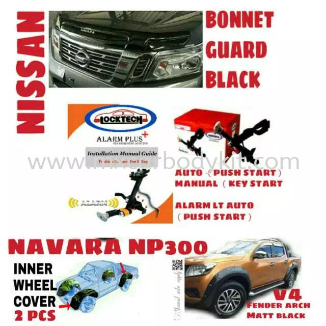 NISSAN NAVARA CAR ACCESSORIES & PARTS  NISSAN NAVARA 4 X 4 Johor, Malaysia, Johor Bahru (JB), Masai. Supplier, Suppliers, Supply, Supplies | MX Car Body Kit