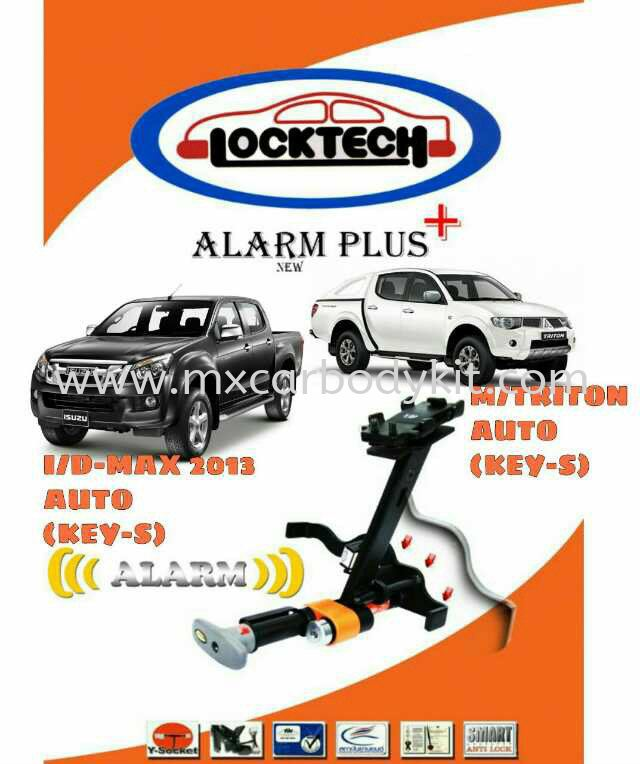 LOCK TECH ALARM PLUS  LOCK TECH ACCESSORIES AND AUTO PARTS Johor, Malaysia, Johor Bahru (JB), Masai. Supplier, Suppliers, Supply, Supplies | MX Car Body Kit