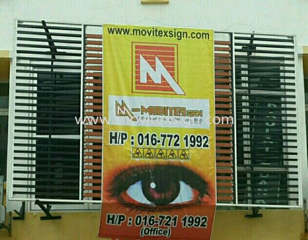 installation banner or remove sign in or outdoor services  Installation / Dismantle and Washing Services Johor Bahru (JB), Johor, Malaysia. Design, Supplier, Manufacturers, Suppliers | M-Movitexsign Advertising Art & Print Sdn Bhd