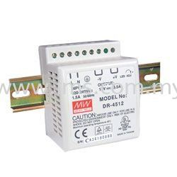 Meanwell Power Supply DR-4524 (45W, 24V, 2A)