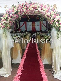 WF 005 Wedding Function Design Taiping, Perak, Malaysia. Suppliers, Supplies, Supplier, Supply | Irene's Florists De Beaute