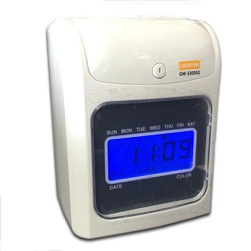 LEDATEK GM-3300SD PUNCH CARD TIME RECORDER Machine Time Recorder Johor Bahru, JB, Johor, Malaysia. Supplier, Suppliers, Supplies, Supply | LEDA Technology Enterprise
