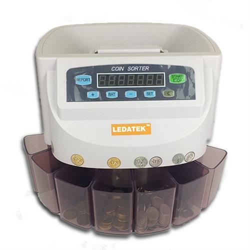 LEDATEK LC-550-WH Coin Sorter / Coin Counter Coin Counter Johor Bahru, JB, Johor, Malaysia. Supplier, Suppliers, Supplies, Supply | LEDA Technology Enterprise