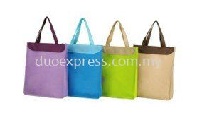 NON WOVEN Bag GP37 (WITH FRONT POCKET AND COVER)