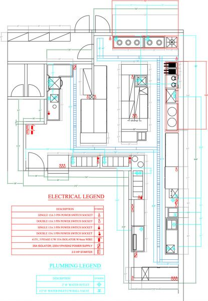 Layout Design Kitchen Design Penang, Malaysia Supplier, Suppliers, Supply, Supplies | Meika Stainless Steel Equipments