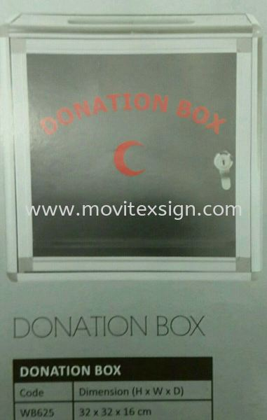 donation or  tander  box White board /Exhibition pannel /Ness Racks and others Johor Bahru (JB), Johor, Malaysia. Design, Supplier, Manufacturers, Suppliers | M-Movitexsign Advertising Art & Print Sdn Bhd
