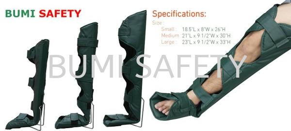 Lower Limb Immobilizer Medical Equipment Selangor, Kuala Lumpur (KL), Puchong, Malaysia Supplier, Suppliers, Supply, Supplies | Bumi Nilam Safety Sdn Bhd