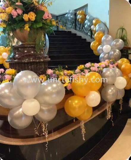Flower Decoration Balloon Decoration Singapore, Johor Bahru (JB) Magician, Entertainer, Planner, Comedian | Uncle Fishy Entertainment