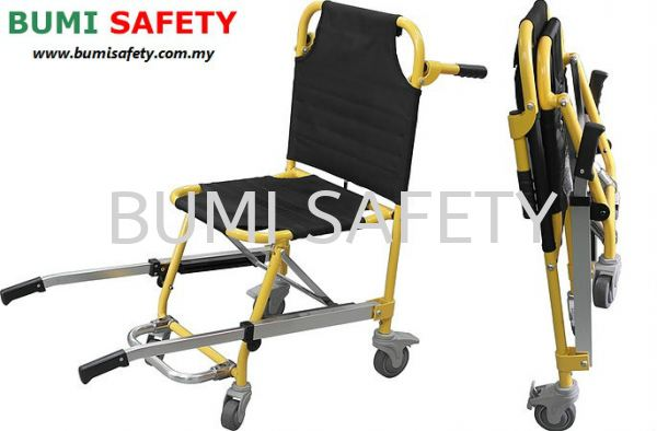 Stair Stretcher with 4 wheel Medical Equipment Selangor, Kuala Lumpur (KL), Puchong, Malaysia Supplier, Suppliers, Supply, Supplies | Bumi Nilam Safety Sdn Bhd