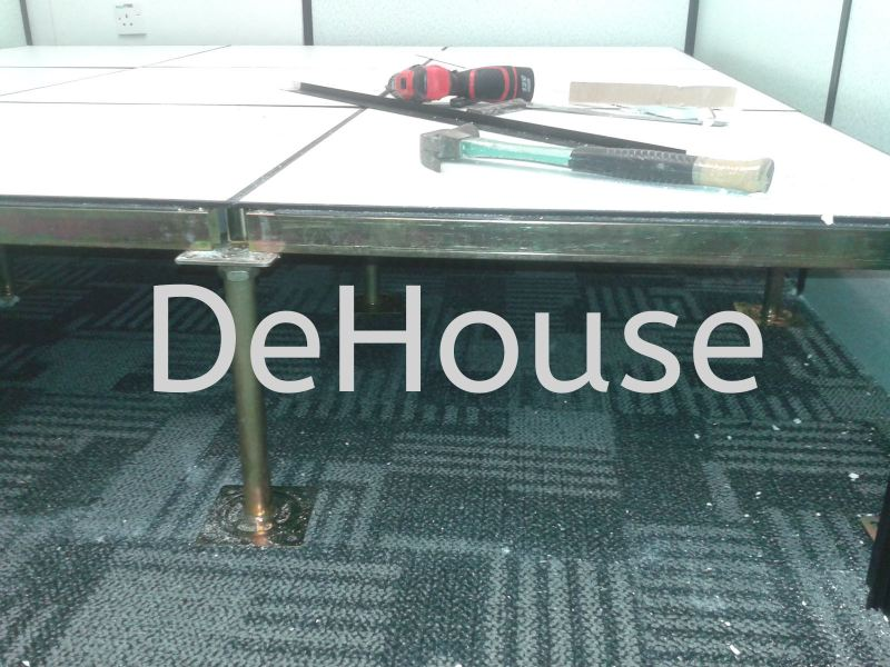 Flooring Server Room Raise Penang, Pulau Pinang, Butterworth, Malaysia Service, Supplier, Supply | De House Design & Furnishing