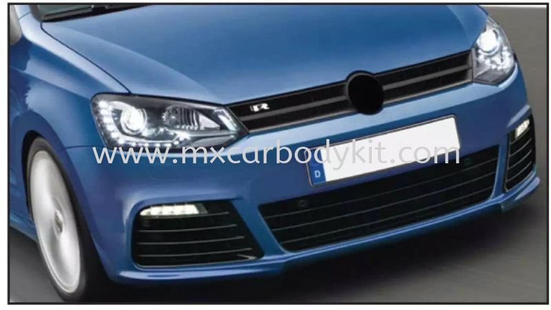 VOLKSWAGEN POLO MK5 2009 & ABOVE R-LINE LOOK FRONT BUMPER POLO VOLKSWAGEN Johor, Malaysia, Johor Bahru (JB), Masai. Supplier, Suppliers, Supply, Supplies | MX Car Body Kit