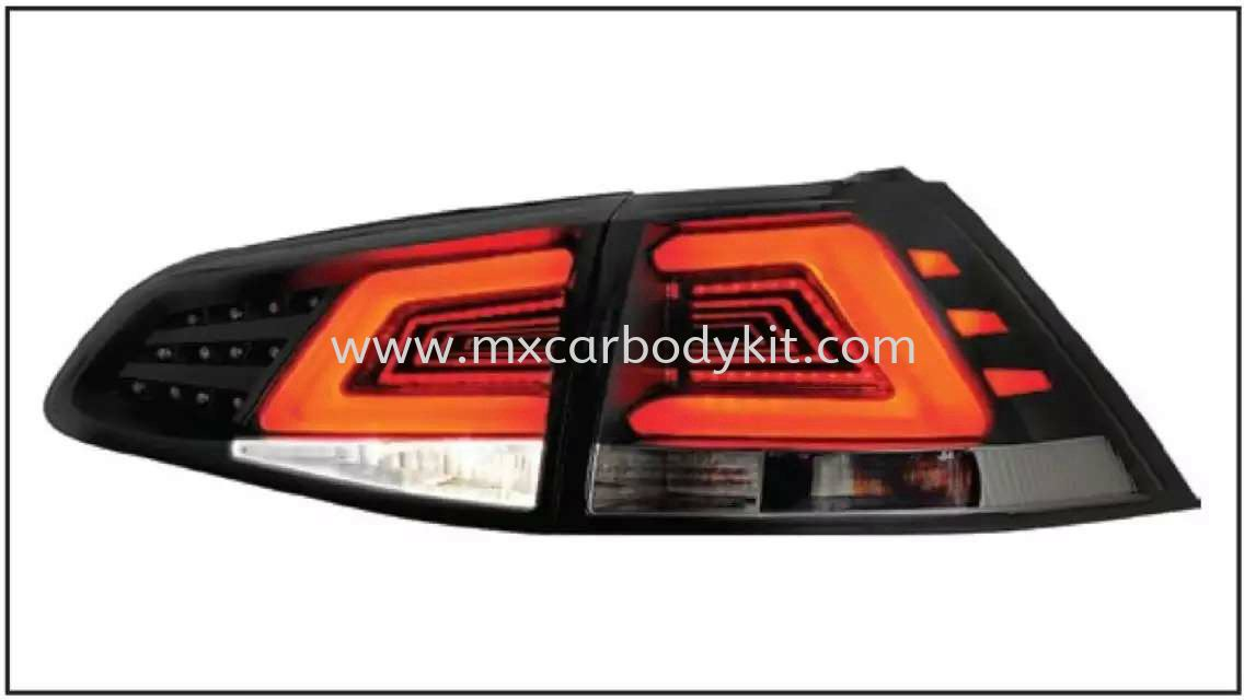 VOLKSWAGEN MK7 2013 & ABOVE REAR LAMP CRYSTAL LED + LIGHT BAR SMOKE TAIL LAMP ACCESSORIES AND AUTO PARTS Johor, Malaysia, Johor Bahru (JB), Masai. Supplier, Suppliers, Supply, Supplies | MX Car Body Kit