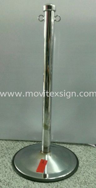 Q Pole (Chorme Silver) 33x15 (click for more detail) Ready Stock for Sale Johor Bahru (JB), Johor, Malaysia. Design, Supplier, Manufacturers, Suppliers | M-Movitexsign Advertising Art & Print Sdn Bhd