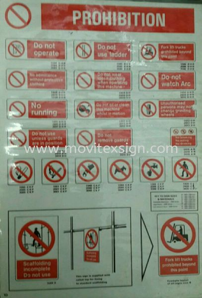 seafty sign chart I  all industries  Safety Sign Sample Industry Safety Sign and Symbols Image Johor Bahru (JB), Johor, Malaysia. Design, Supplier, Manufacturers, Suppliers | M-Movitexsign Advertising Art & Print Sdn Bhd