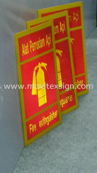 fire extinguisher sign board 3m reflective sticker  Safety Signage safety sign sample Johor Bahru (JB), Johor, Malaysia. Design, Supplier, Manufacturers, Suppliers | M-Movitexsign Advertising Art & Print Sdn Bhd
