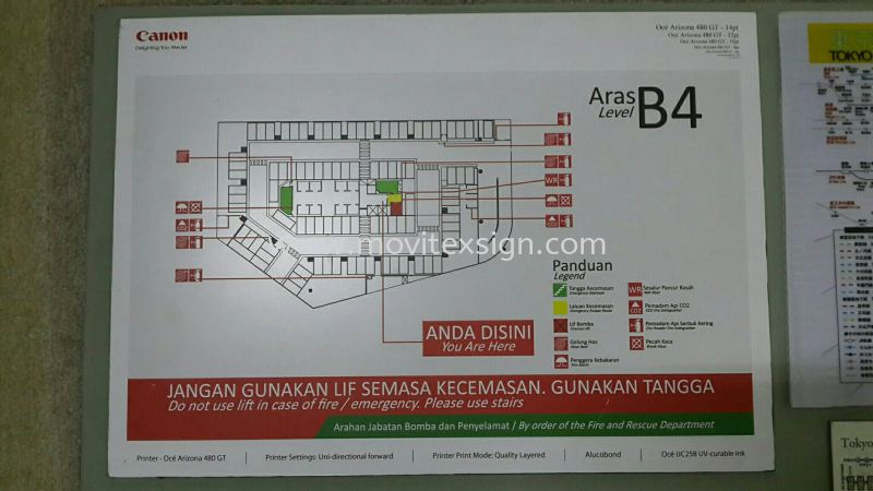 building  floor plan n indicate Map point  with agenda  Safety Signage safety sign sample Johor Bahru (JB), Johor, Malaysia. Design, Supplier, Manufacturers, Suppliers | M-Movitexsign Advertising Art & Print Sdn Bhd