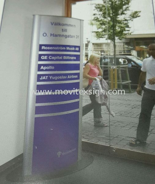 floor stand directory system  Material Johor Bahru (JB), Johor, Malaysia. Design, Supplier, Manufacturers, Suppliers | M-Movitexsign Advertising Art & Print Sdn Bhd