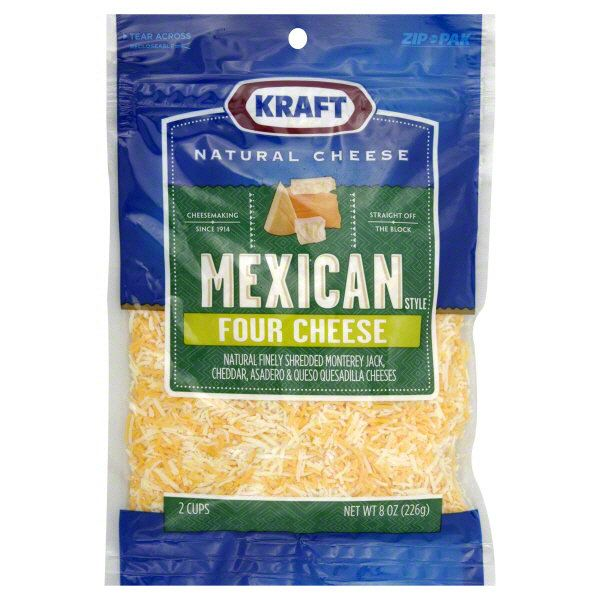 Kraft Finely Shredded 4 Cheese Mexican Style Kraft Cheese  Cheese Kuala Lumpur (KL), Selangor, Malaysia Supplier, Supply, Supplies, Distributor   Five Star Gourmet Sdn Bhd
