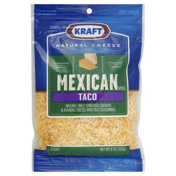 Kraft Finely Shredded Taco Cheese Mexican Style Kraft Cheese  Cheese Kuala Lumpur (KL), Selangor, Malaysia Supplier, Supply, Supplies, Distributor | Five Star Gourmet Sdn Bhd