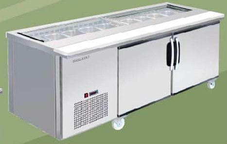SALAD SANDWICH COUNTER Salad Sandwich Counter Refrigeration Penang, Malaysia Supplier, Suppliers, Supply, Supplies | Meika Stainless Steel Equipments