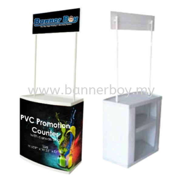 PVC Promotion Counter, Popup Counter, Roadshow Booth, Portable booth PVC Promotion Counter Display Solutions Selangor, Kuala Lumpur (KL), Malaysia, Seri Kembangan Service, Supplier, Supply, Supplies | Ted Print Sdn Bhd