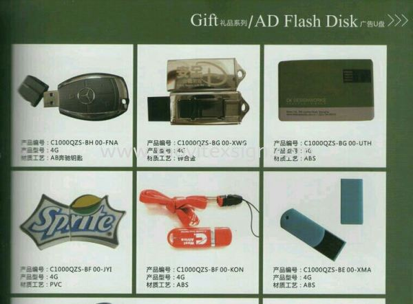 Flash Disk or pen drive  AD Flash Disk Gift and Souvenir  Johor Bahru (JB), Johor, Malaysia. Design, Supplier, Manufacturers, Suppliers | M-Movitexsign Advertising Art & Print Sdn Bhd