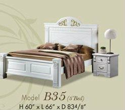 B35 (5' Bed) Gorgeous Life Series (IV) Malaysia, Johor, Batu Pahat Manufacturer, Supplier, Supply, Supplies | Bright Furniture Sdn Bhd