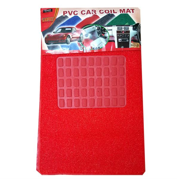 Car Mat Universal Size - B6 - Red B6 Car Mat Universal Size Malaysia, Penang Supplier, Suppliers, Supply, Supplies | YGGS World Sdn Bhd