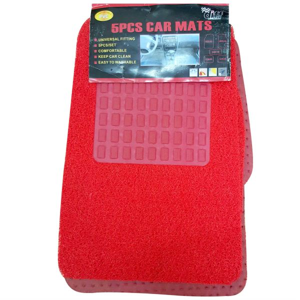 Car Mat Universal Size - N5 (Nail Backing) - Red N5 (Nail Backing)  Car Mat Universal Size Malaysia, Penang Supplier, Suppliers, Supply, Supplies | YGGS World Sdn Bhd