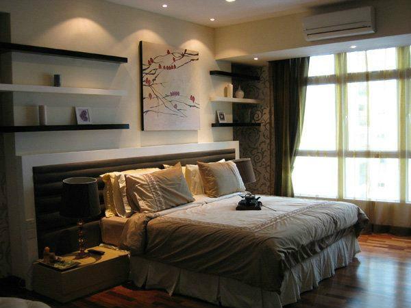Condominium Master Bedroom Design Master Room Interior Design Bedroom Design Selangor, Kuala Lumpur (KL), Malaysia, Kajang Service | Xenn Interior Design