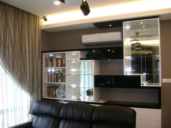 Modern Living Room Design Living Room Design Selangor, Kuala Lumpur (KL), Malaysia, Kajang Service | Xenn Interior Design