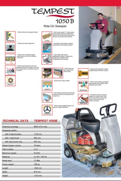 Ride on Sweeper Italy Ride-On Sweepers Floor Sweepers Johor Bahru JB Malaysia Supply, Suppliers, Supplies | FT Cleaning Supplies