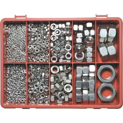 QFT6154610K A4 STAINLESS STEEL METRIC NUT KIT