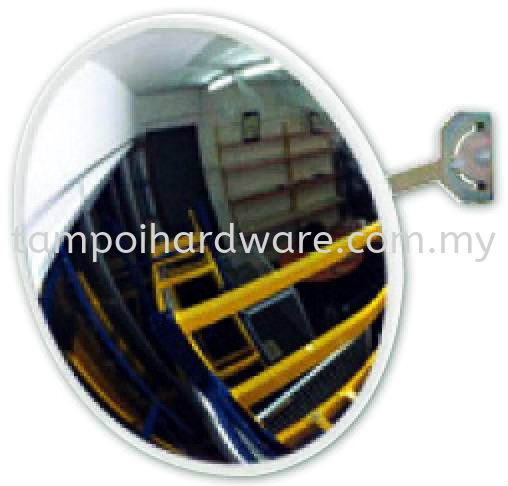 ABS Convex Mirror Indoor Mirror Personal Protective Equipments Johor Bahru (JB), Malaysia, Tampoi Supplier, Suppliers, Supply, Supplies | Tampoi Hardware Sdn Bhd