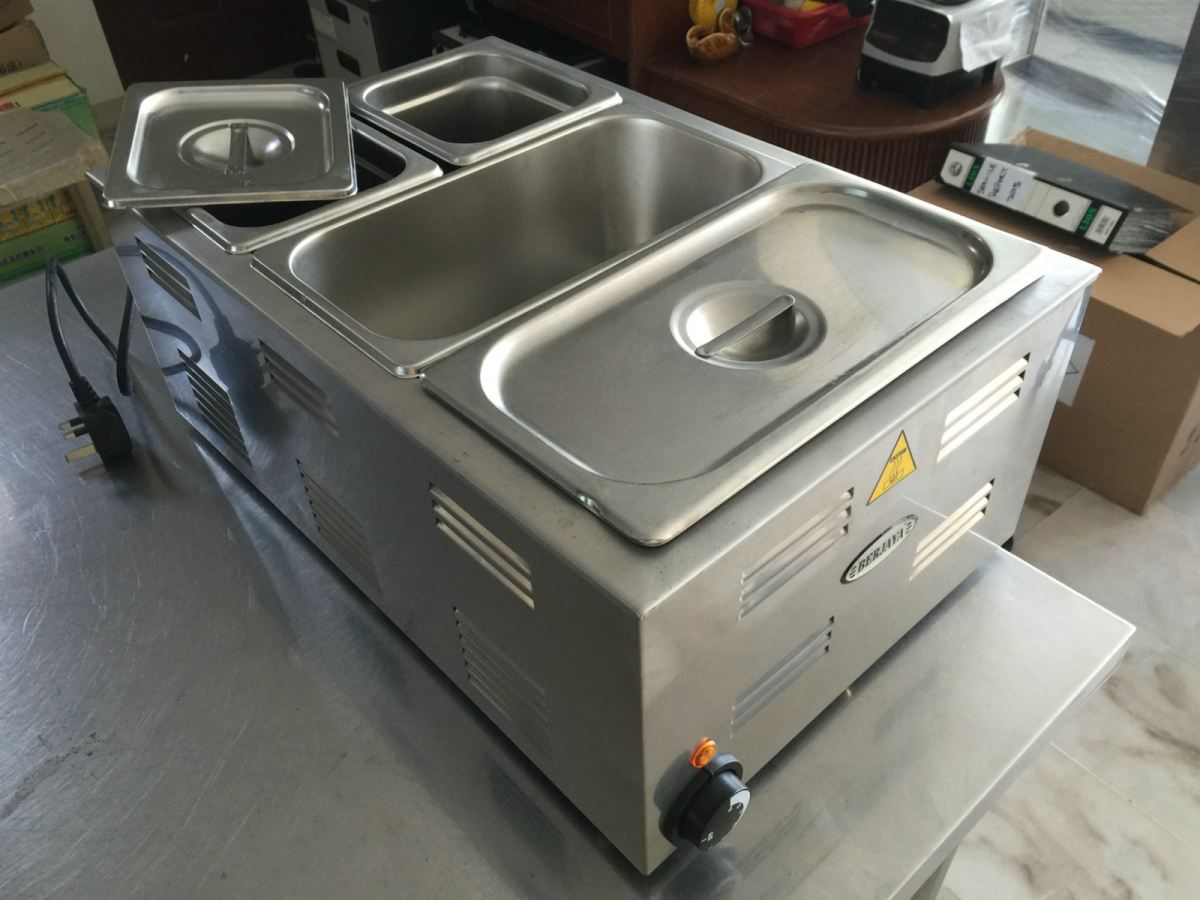 Sauce Warmer With Insert Pans Bain Marie Electrical Equipment Penang, Malaysia Supplier, Suppliers, Supply, Supplies | Meika Stainless Steel Equipments