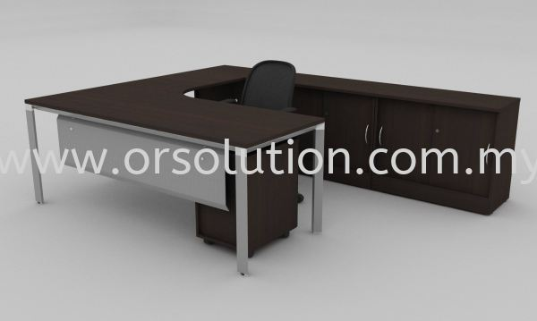 FST (89) Manager Table Office Table Johor Bahru (JB), Malaysia, Kempas Supplier, Suppliers, Supply, Supplies | OR Solution