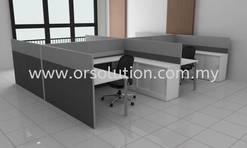 BR4 (2) Workstation System-Pyramid Office Partition Systems Johor Bahru (JB), Malaysia, Kempas Supplier, Suppliers, Supply, Supplies | OR Solution