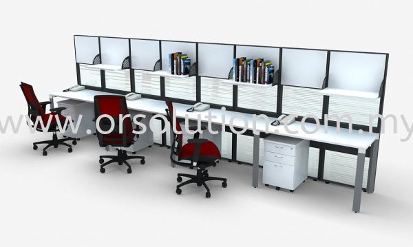AR4 (2) Workstation System-Pyramid Office Partition Systems Johor Bahru (JB), Malaysia, Kempas Supplier, Suppliers, Supply, Supplies   OR Solution