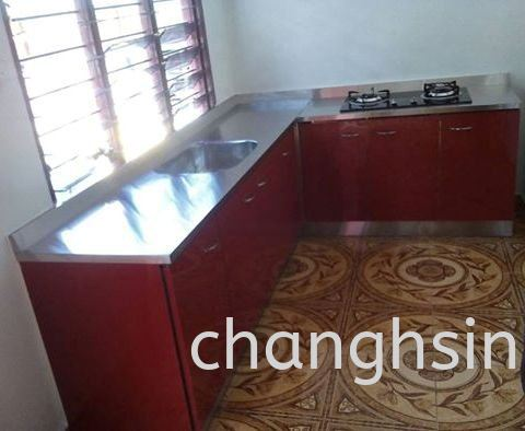 ABS + S/STEEL TOP CABINET WITH STAINLESS STEEL TABLE TOP CABINETS Malaysia, Kedah, Kulim Supplier, Manufacturer, Supply, Supplies | Chang Hsin Industry (M) Sdn Bhd