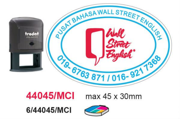44045 Multicolor Rubber Stamps Selangor, Malaysia, Kuala Lumpur (KL), Puchong Services, Design | Esprawell Sdn Bhd