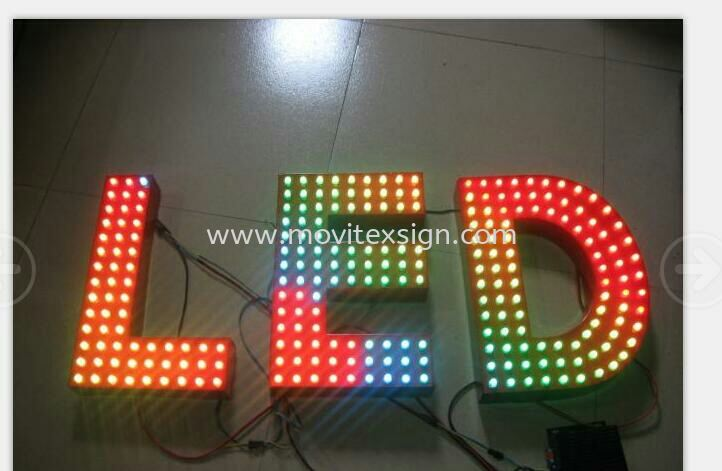 The logo sign and multicolor LED module are used for the lettering logo to increase outdoor visual aesthetics. (click for more detail) LED Signage LED Signage and Neon Signboard Johor Bahru (JB), Johor, Malaysia. Design, Supplier, Manufacturers, Suppliers | M-Movitexsign Advertising Art & Print Sdn Bhd