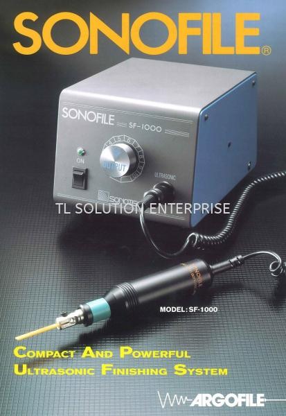Compact and Powerful Ultrasonic Finishing System Sonofile Japan Argofile UHT Xebec Sonofile Daiwa Rabin Johor Bahru (JB), Malaysia Supplier, Suppliers, Supply, Supplies | TL Solution Enterprise